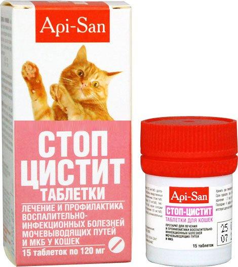 Стоп цистит для кошек: инструкция по применению
